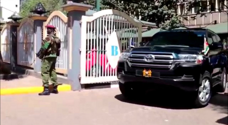DCI detectives storm DP Ruto's offices