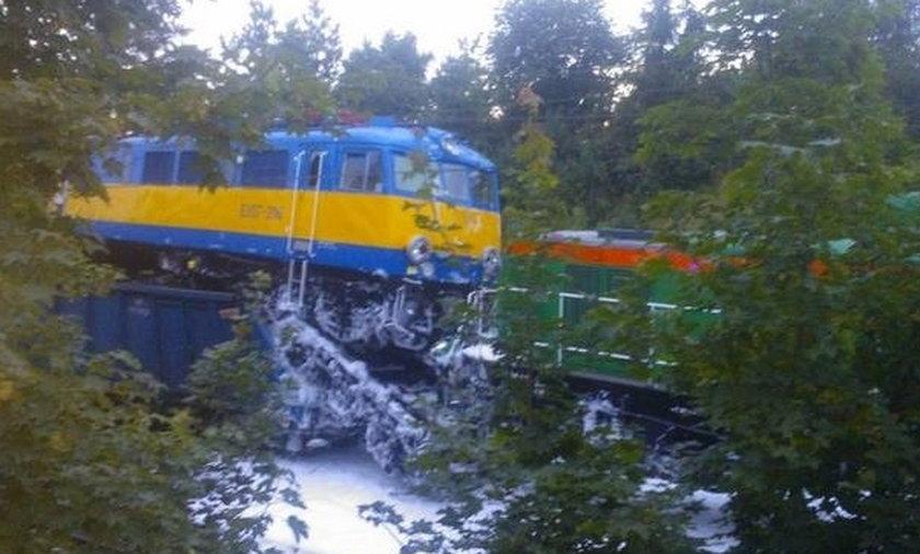 Zderzenie pociągów w Tczewie