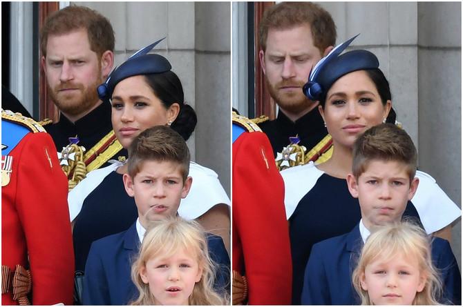 Kamere su zabeležile neprijatan trenutak između Megan i Harija