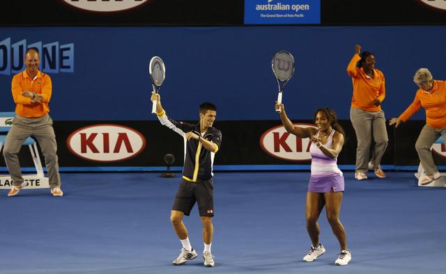 Novak Đoković i Serena Vilijams