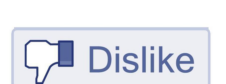 dislike button facebook