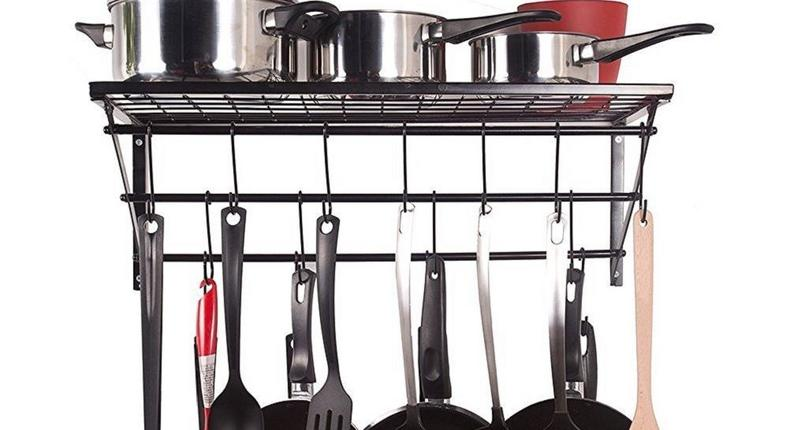 Unlike cups and plates, it's not an easy feat planning on where to store pans and skillets.