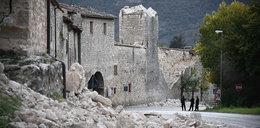 Ekipy ruszają na ratunek. Hotel zniszczony przez lawinę po trzęsieniu