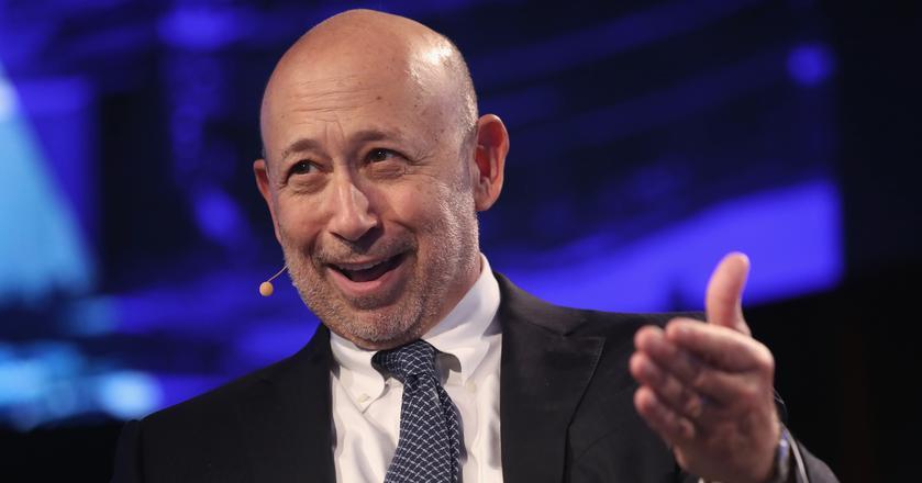 CEO Goldman Sachs Lloyd Blankfein