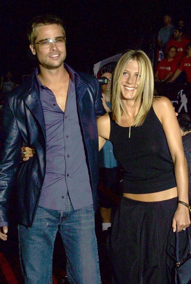 1. Brad Pitt i Jennifer Aniston