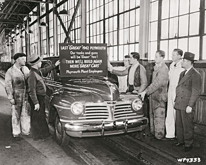 Employees Ushering Assembly Car