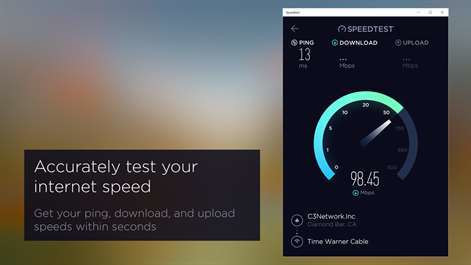 Nowy Speedtest na Windows 10