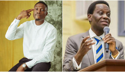 Nigerian rapper Vector and the late Pastor Dare Adeboye [Instagram/VectorThaViper]