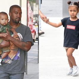 Oto najnowsze zdjęcia synka i córki Kim Kardashian. Urocze!