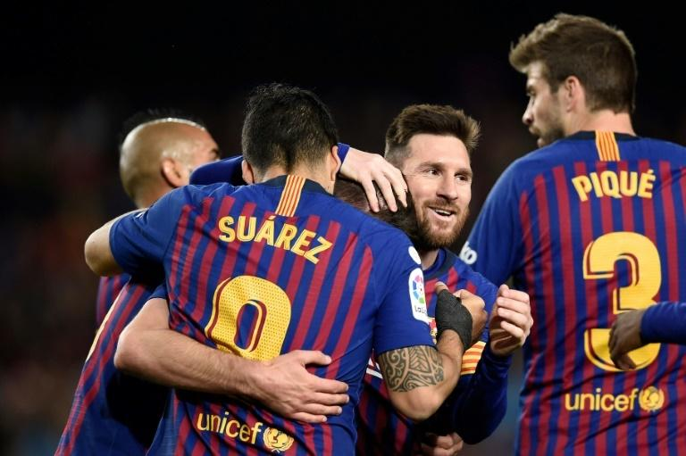 Barca's win over Real Sociedad edged them closer to the La Liga title