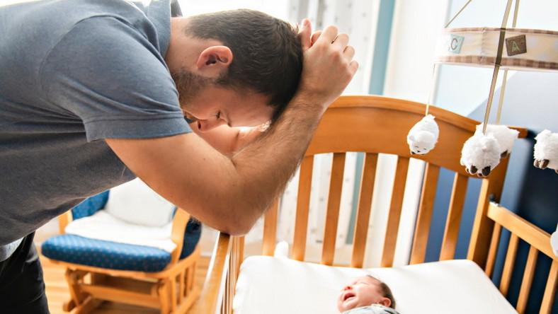 Zmęczony ojciec
