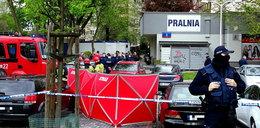 Strzały w pralni w Warszawie. Jedna osoba nie żyje