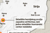 Mapa napada, Sirija