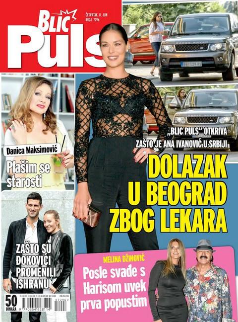 """Novi """"Blic Puls""""otkriva zašto je Ana Ivanović bila u Srbiji: Dolazak u Beograd zbog lekara!"""