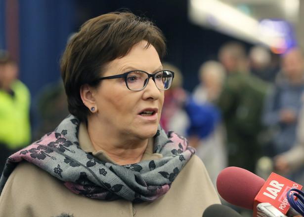 Premier Kopacz nie boi się, że wiele młodych osób boi się PiSu