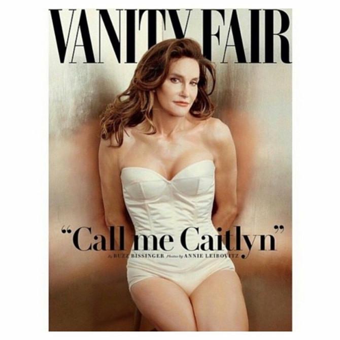 Posle poziranja naslovnoj strani Kejtlin je ostala konkurencija ni manje ni više nego bivšoj supruzi Kris