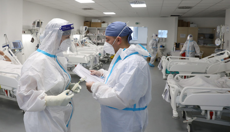 koronavirus Batajnica bolnica 1 foto RAS Djordje Kojadinovic