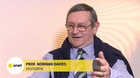 Prof. Norman Davies: historia Polski w dużej mierze była zakazana