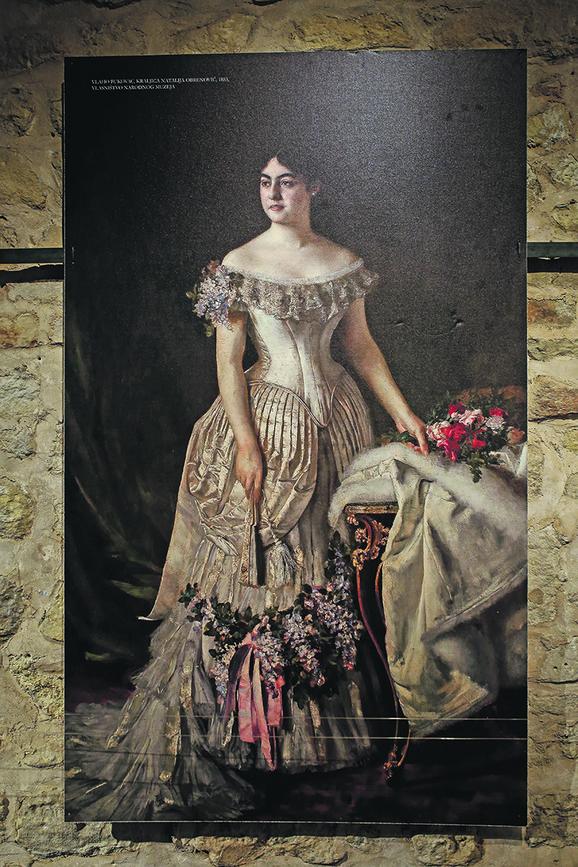 Kraljica Natalija je bila udata za kralja Milana, ali su se razveli 1888. godine