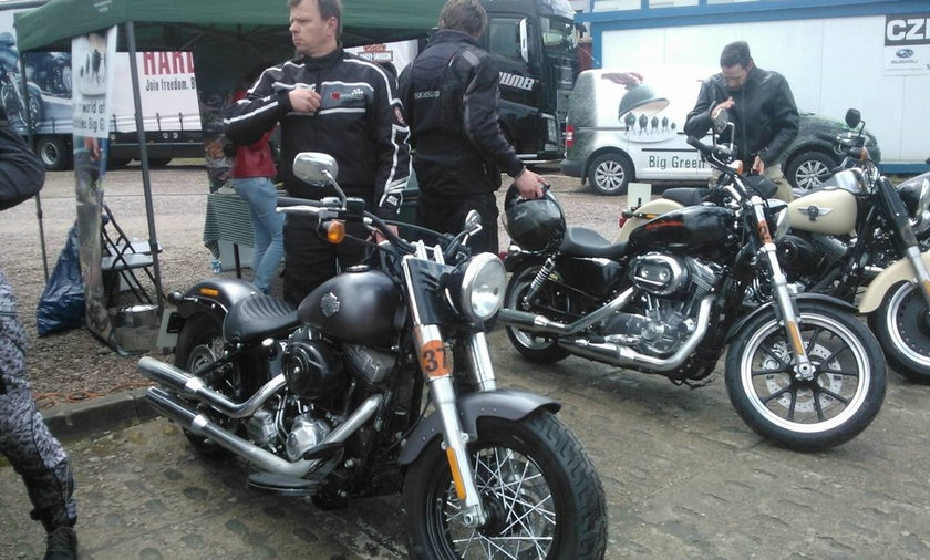 Impreza Harley Davidson Gdańsk.