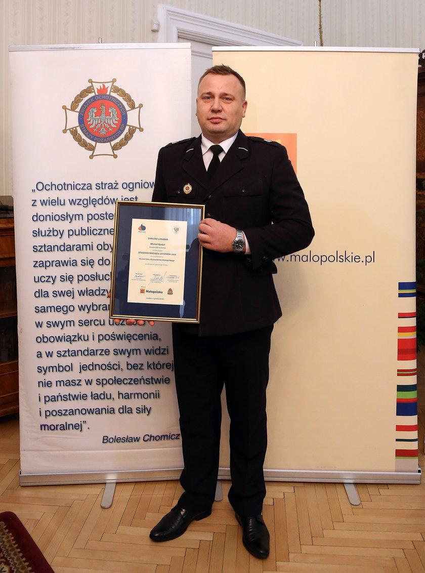 Strażak i policjany