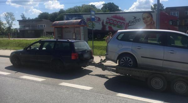 Kierowca passata naraził swoje dzieci na potężne niebezpieczeństwo