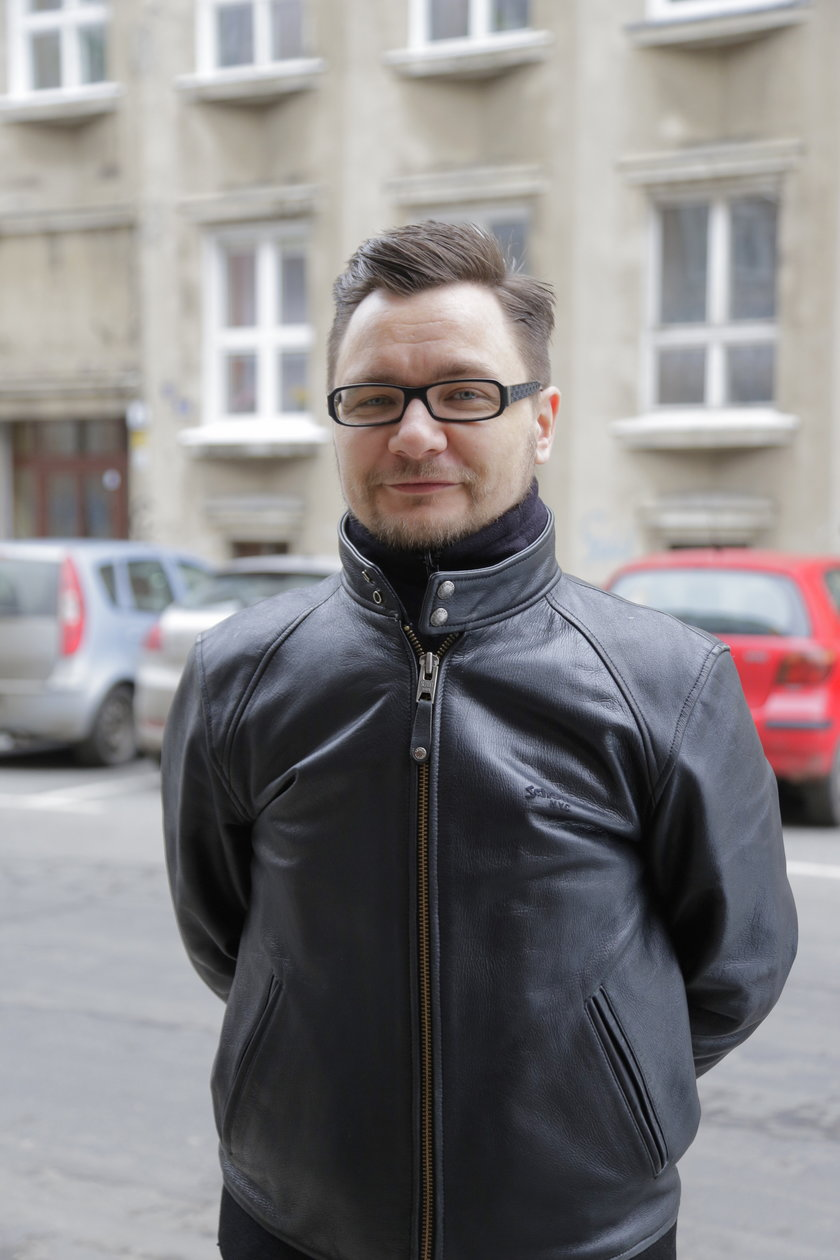Przemysław Filar (36 l.), aktywista miejski
