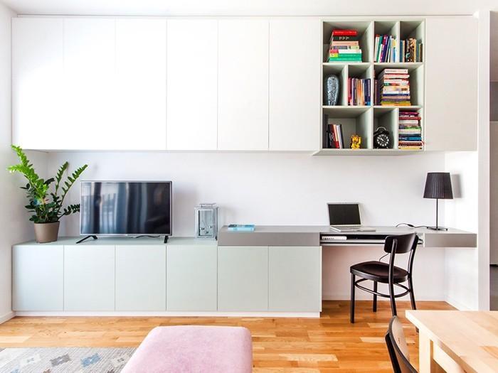Prostota połączona ze sprytnymi rozwiązaniami daje efekt komfortu, wygody i elegancji.