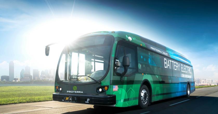 Proterra Catalyst E2 Max - to ten autobus pokonał rekordowy dystans 1772,2 kilometra