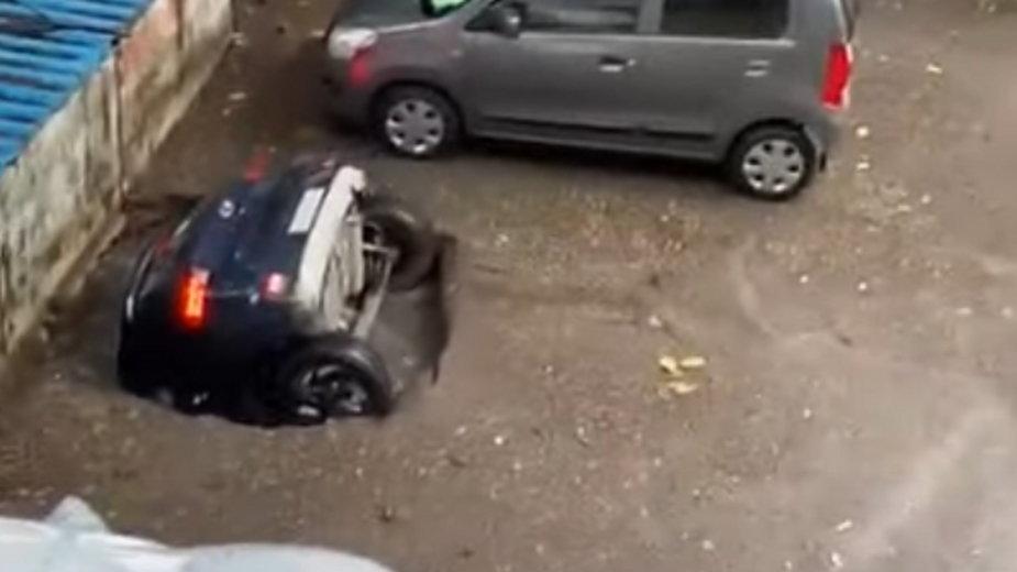 Nietypowy wypadek miał miejsce w Indiach