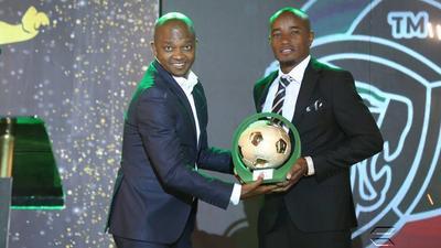 Kariobangi Sharks's Kapaito takes home Sh1.5M after being named MVP at FKF-PL Awards