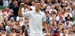 Gwiazda Wimbledonu Hubert Hurkacz. Jako koszykarz też robił furorę