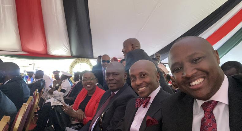 Nandi Hills MP Alfred Keter explains absence from politics says he is at UoN for Masters degree