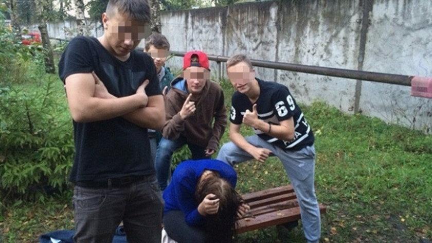 Nastolatkowie znęcali się nad koleżanką