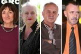Ljiljana Smajlović, Borka Pavićević, Slobodan Reljić, Dragoljub Žarković