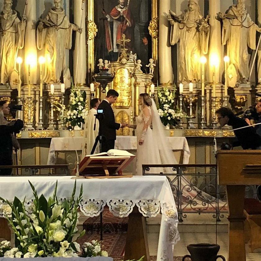 Małgorzata Sienkiewicz i Paweł Borysewicz stanęli na ślubnym kobiercu