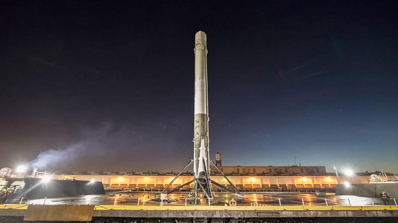 SpaceX zapowiada częste starty rakiet
