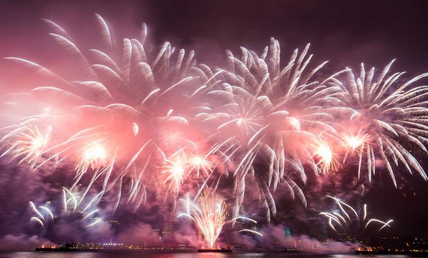 fajerwerki sylwester nowy rok