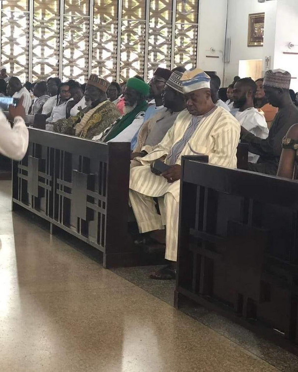 Chief Imam visits Christ the King church as part of his 100 years birthday thanks giving