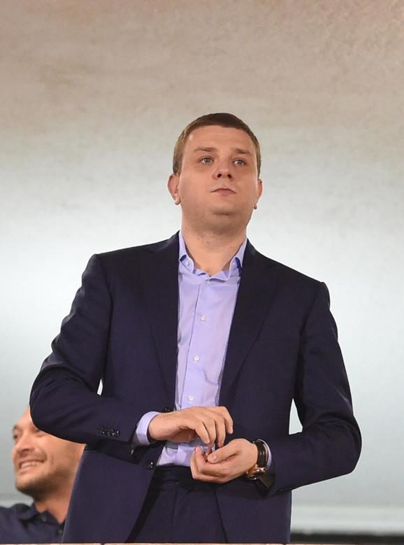 Generalni direktor Partizana Miloš Vazura