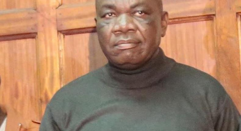 Evans Wafula Kundu, a suspect in the NYS scandal in which Sh 9 billion was lost