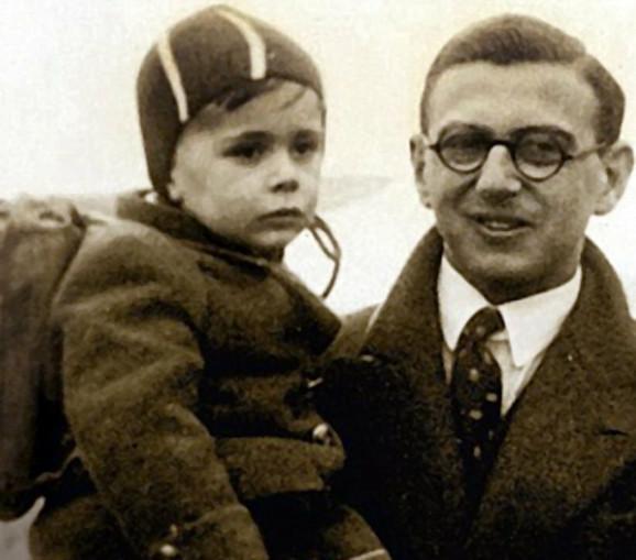 Vinton 1939. sa jednim od spasene dece