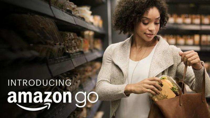 Samoobsługowy sklep Amazonu zaliczył poślizg