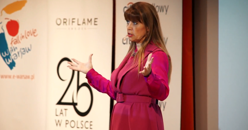 Beata Pawłowska, CEO Oriflame Poland