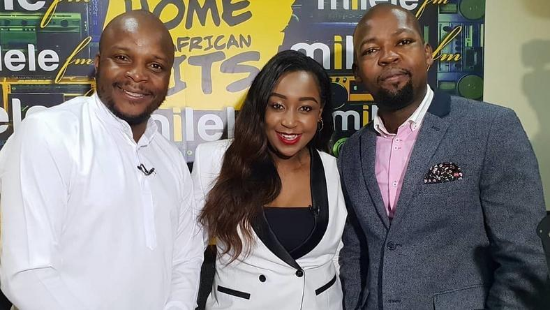 Alex Mwakideu, Jalango and Betty Kyallo