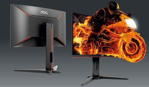 AOC C27G1. Test monitora do zabawy