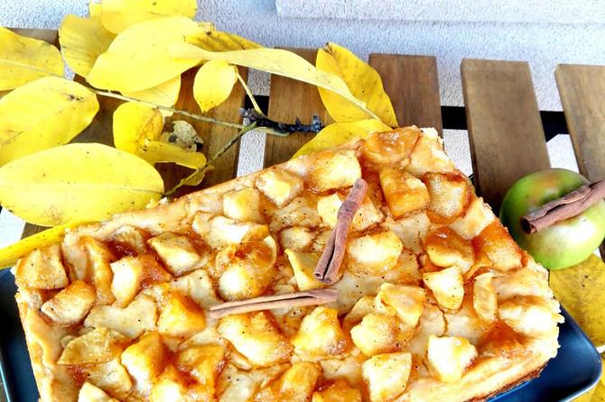Čizkejk sa jabukama i karamelom na potpuno drugačiji način!