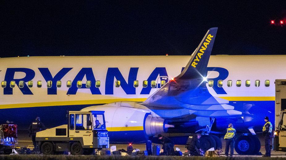 Samolot Ryanair z Dublina do Krakowa awaryjnie lądował w Berlinie