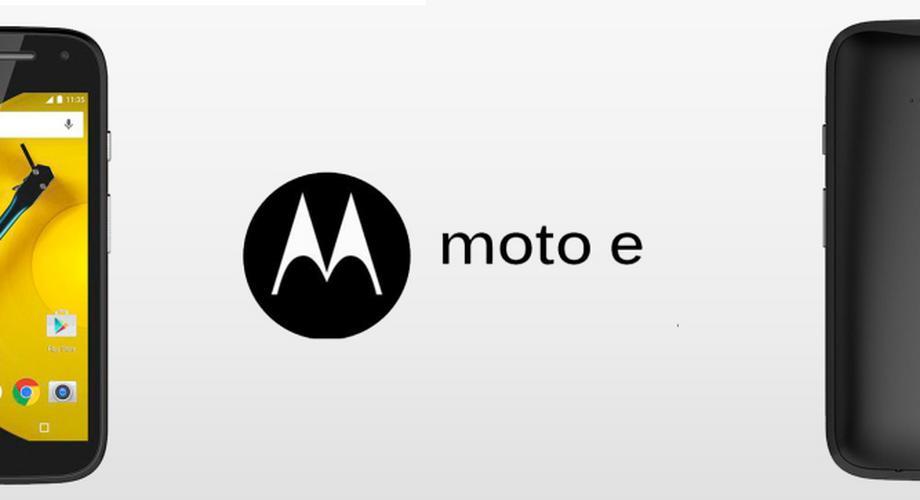 Motorola Moto E mit 4G LTE und Android Lollipop vorgestellt