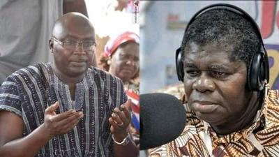 'Tears don't come to me easily' - TT says as he receives GHC50k gift from Dr Bawumia (WATCH)